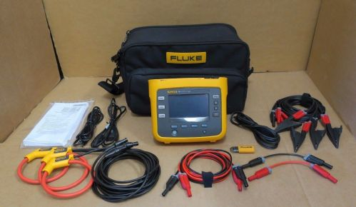Fluke 1730 3 Phase Electrical Energy Monitor & Logger 1000V CAT III/600V CAT IV